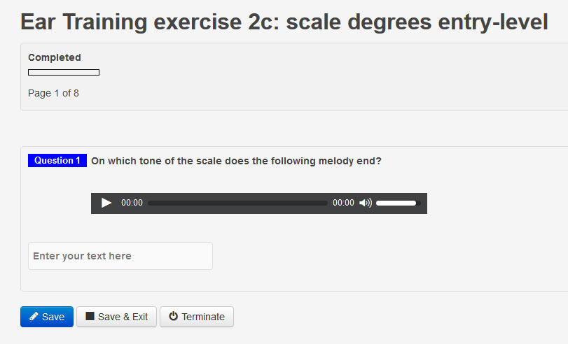 Scale degrees entry-level: new ear training exercise added